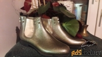 резиновые полусапожки menghi shoes &co