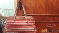 сумка летняя, демисезонная