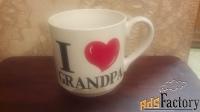 кружка «я люблю дедушку»