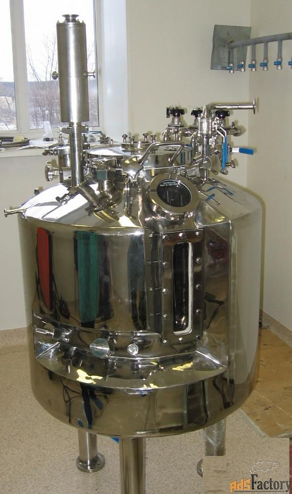 ферментёры, биореакторы лабораторные, пилотные и промышленные. гранд
