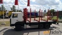 новый сортиментовоз т6321 на шасси маз-6317f9-540-000