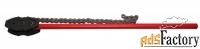 цепной трубный ключ с двойными губками, от 6 до 16 дюймов