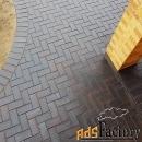 клинкерная брусчатка (клинкер тротуарный)