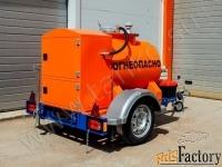 прицеп-цистерна для перевозки дизельного топлива 500 литров
