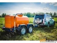 прицеп-цистерна для перевозки дизельного топлива 950 литров