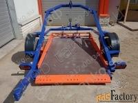 прицеп с опускающейся платформой до 750 кг