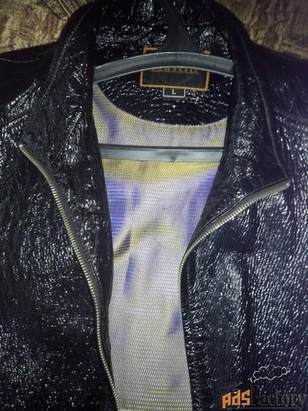 кожаная куртка (лайкра)