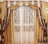 шторы . домашний текстиль. пошив штор