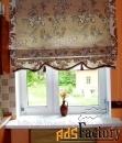 пошив римских штор.