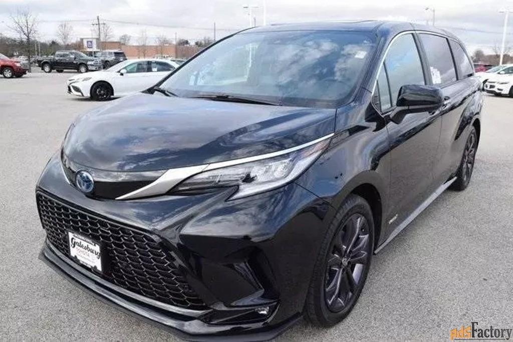 Toyota Sienna, 2020