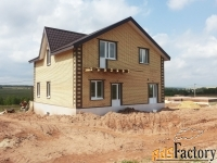 строительство домов и коттеджей с коммуникациями и отделкой под ключ