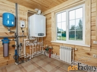 мы выполняем все виды услуг по отоплению, водоснабжению и канализации