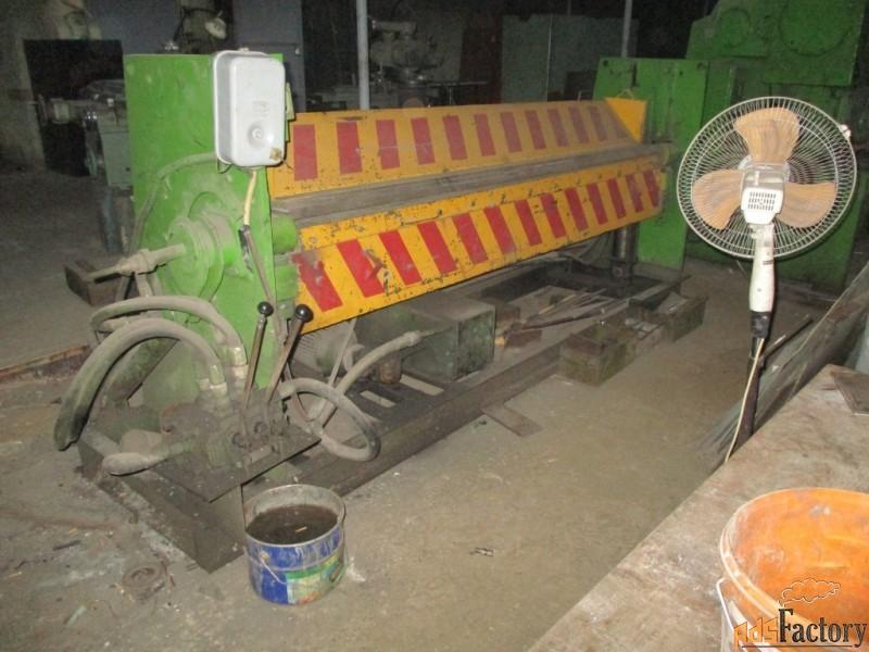 листогибочная машина с поворотной балкой 2,5мм х2500мм