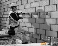монтаж навесных вентилируемых фасадов под