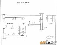 сдается в аренду торговое помещение, 55,4 м²