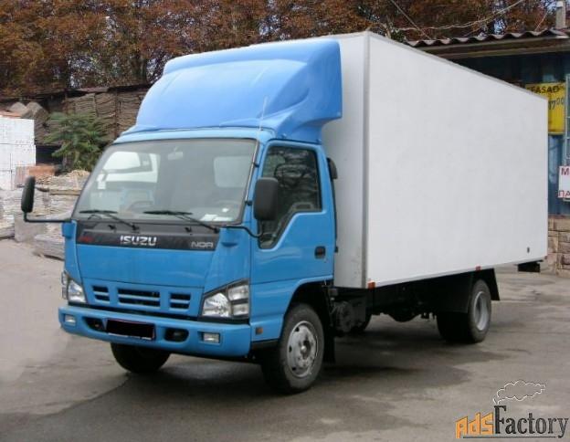 по городу и области, фургон 5 тонн