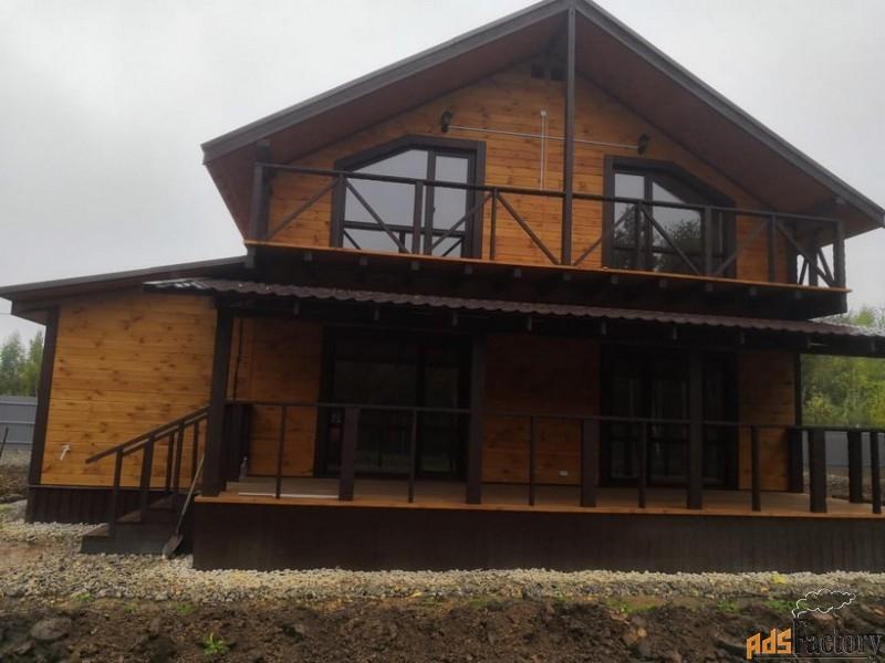дом 175 м² на участке 10 сот.