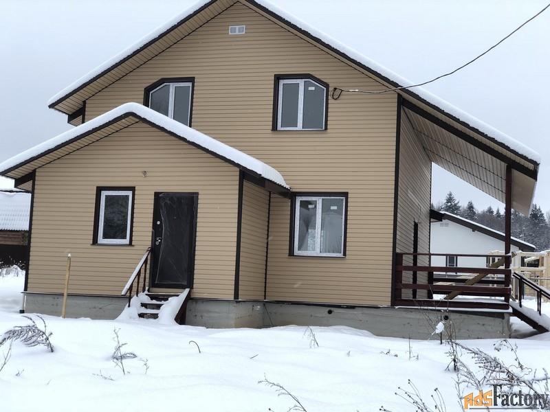 дом 170 м² на участке 12 сот.