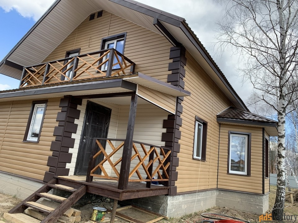 дом 185 м² на участке 15 сот.