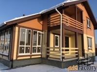 дом 210 м² на участке 15 сот.