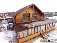 дом 180 м² на участке 10 сот.