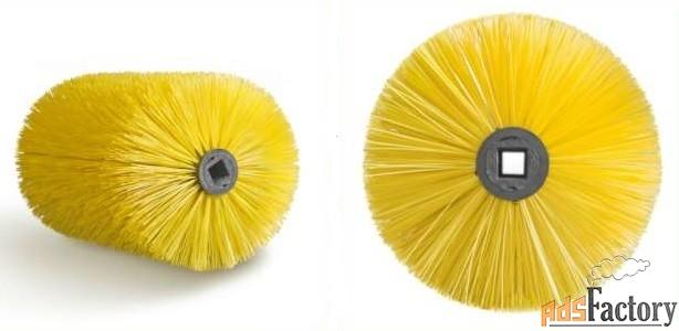 цилиндрические щётки для подметальных машин bucher, agata pronar