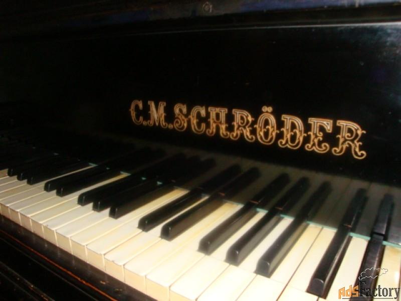 рояль c.m.schroder