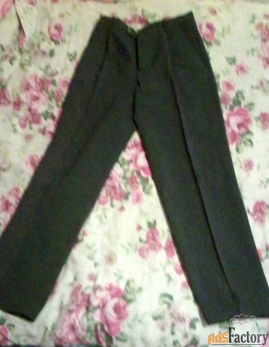 мужские брюки 48 размер серые