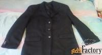 пиджак мужской чёрный 46 размер состояние нового