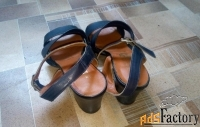 босоножки женские с каблуком