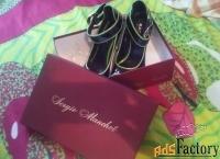 женские модные туфли sergio manchot 37 размер