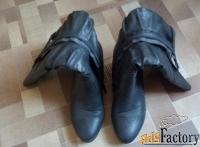 женские сапоги 37 размер