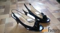 женские туфли с каблуком модные