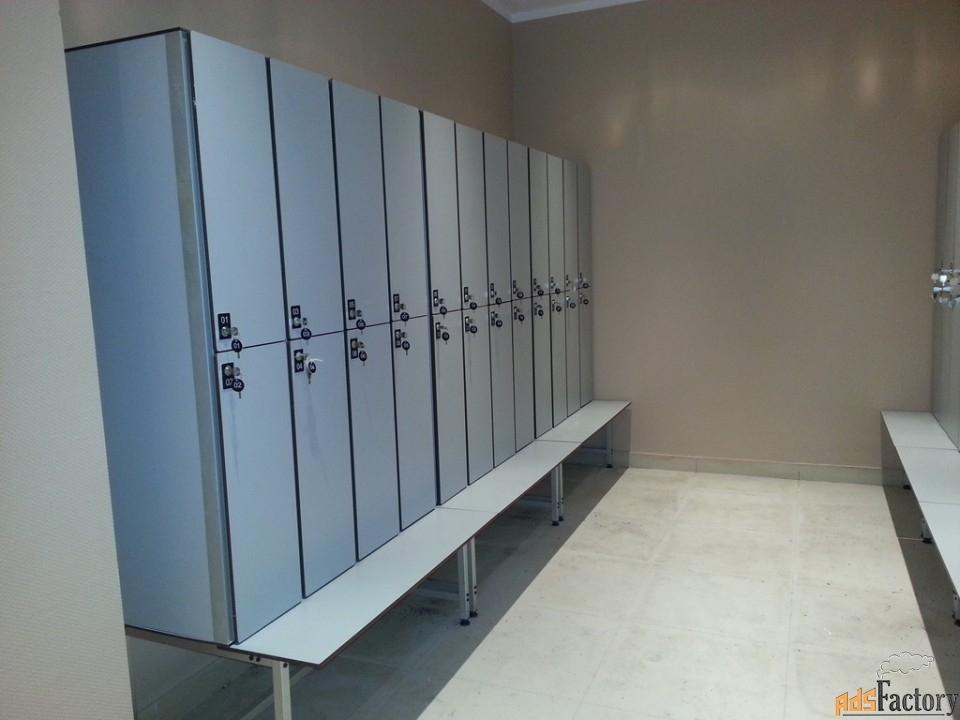 влагостойкая мебель hpl, шкафчики для раздевалок и бассейнов, отелей