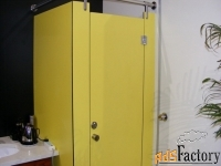 сантехнические модульные туалетные и душевые перегородки  из  hpl
