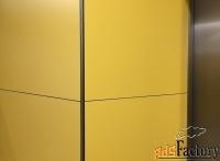 hpl панели стеновые архитектурные для отделки интерьеров и больниц км1