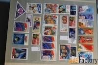 продам почтовые марки космос