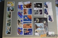 продам ещё другие почтовые марки по теме космос