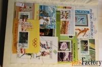 продам почтовые марки по теме спорт