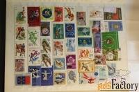 продам другие почтовые марки по теме спорт.