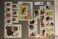 продам почтовые марки по теме фауна, флора