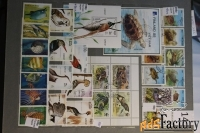 продам ещё почтовые марки по теме фауна, флора.