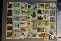 продам другие почтовые марки по теме фауна, флора.