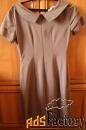 платье с коротким рукавом. размер 44-46