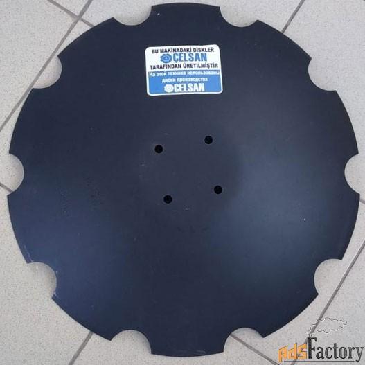диск 580х5мм, зубчатый pottinger