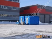блочно-модульный склад лвж