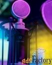 Запись песни на студии звукозаписи