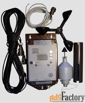 прибор для измерения скорости ветра (анемометр) крановый