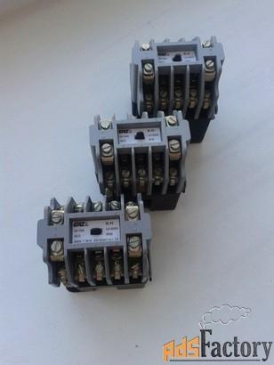 продаю контактор (пускатель) болгарский к11, ток 16а, uкат=42в