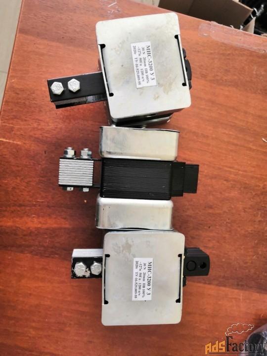 электромагнит мис-3200 110в, 127в, 220в, 380в